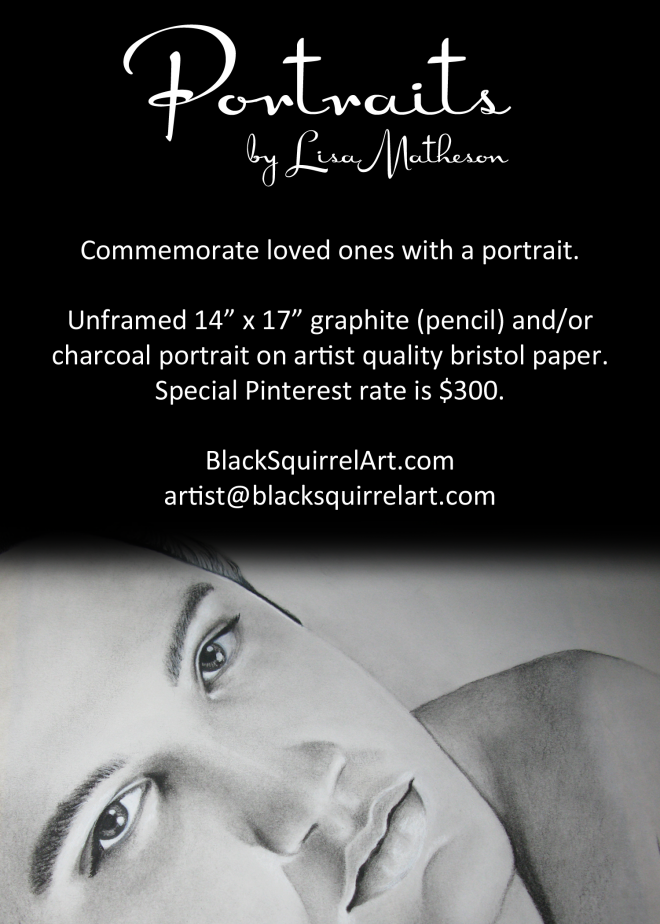 Lisa Matheson Black Squirrel Art Company - Pinterest Special