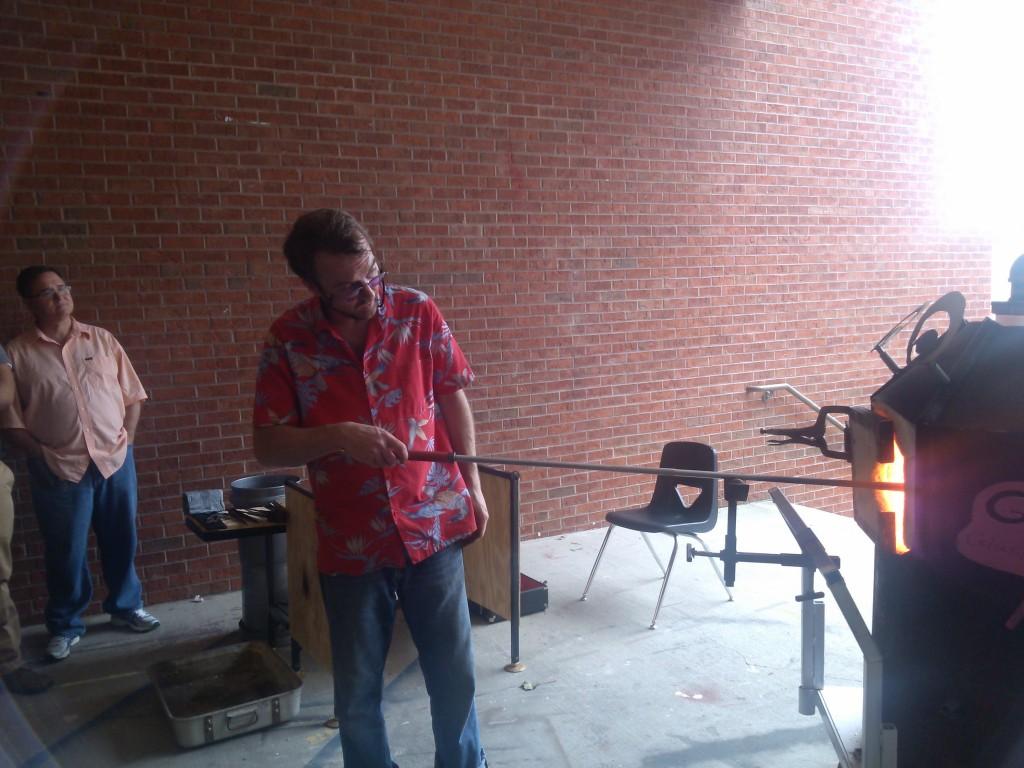 Glassblowing / Phil Vinson / Robin Humphreys - Carrollton, GA / Carrollton Cultural Arts Center